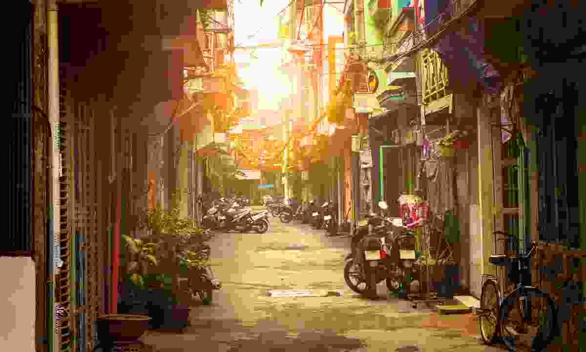 A side street in Ho Chi Minh (Shutterstock)
