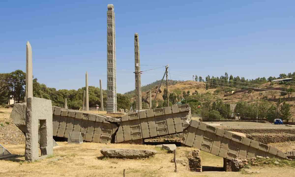 Ancient obelisks in Aksum (Shutterstock.com)