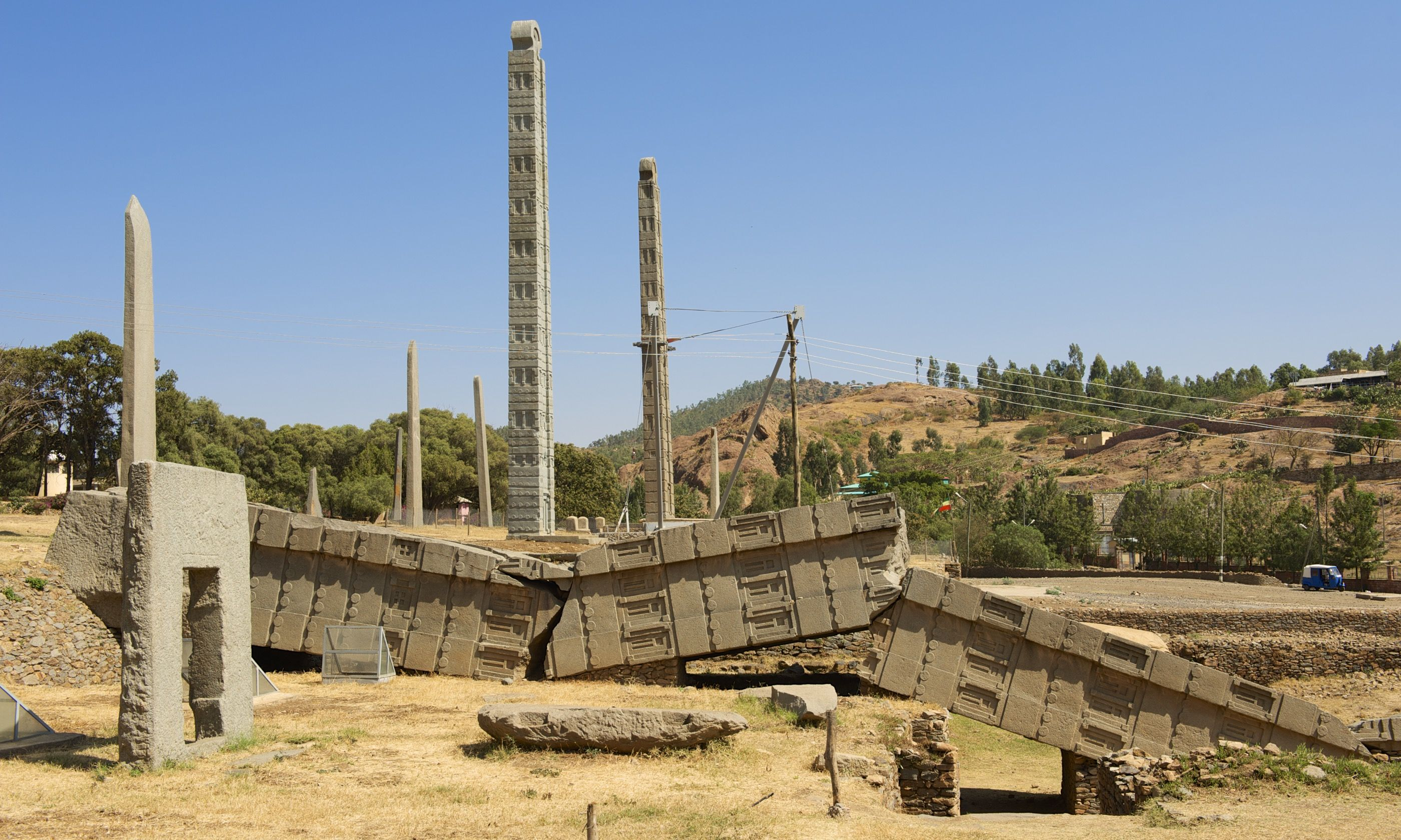 Ancient obelisks in Aksum (Shutterstock.com)