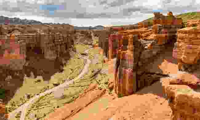 Charyn Canyon (Dreamstime)