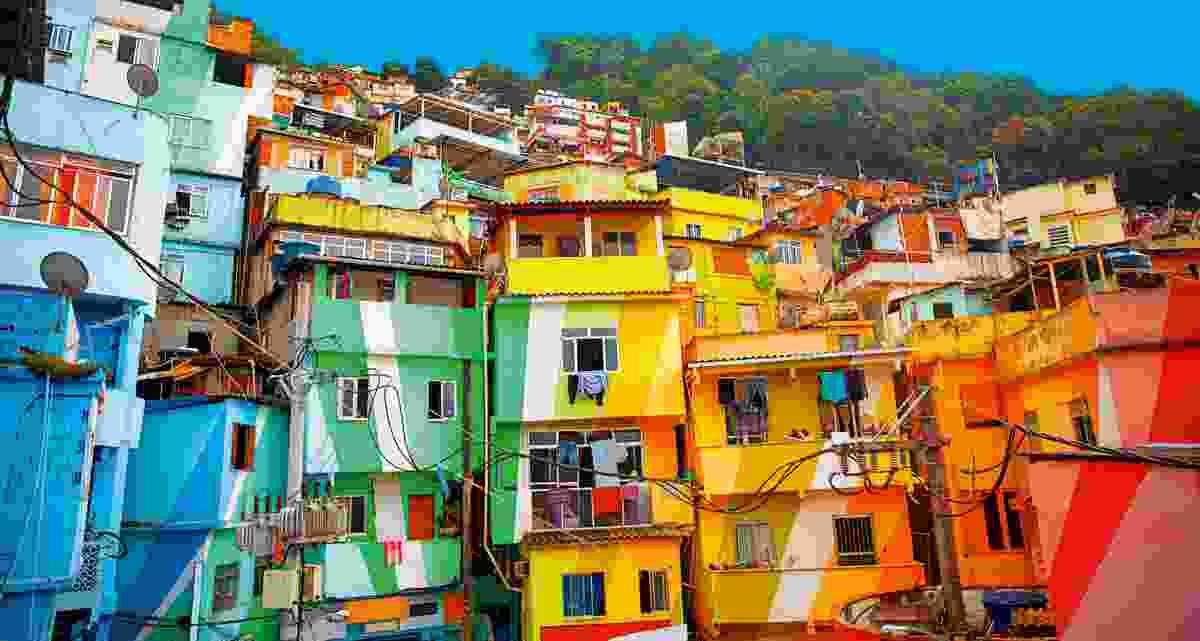 The Favela in Rio D Janiero, Brazil (Shutterstock)