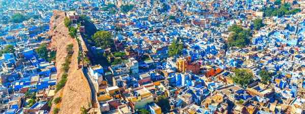 The Blue City of Jodhpur, India (Shutterstock)