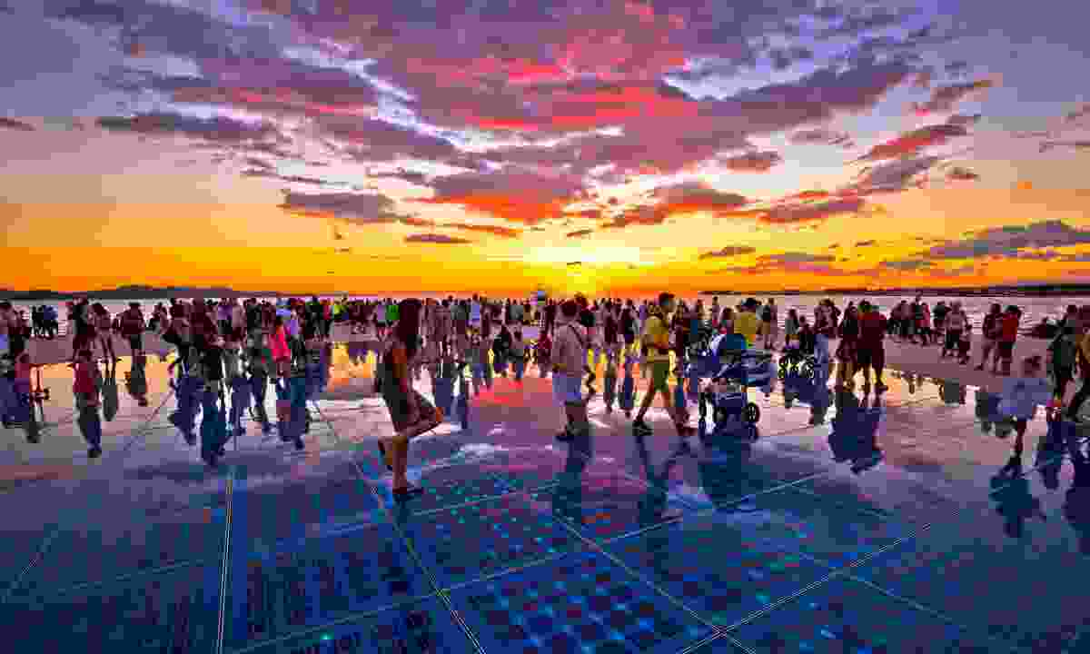 The Greeting of the Sun is one of Zadar's great art instillations (Shutterstock)