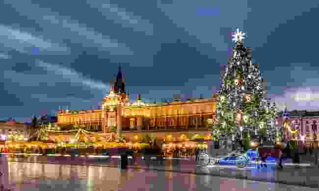 Kraków at Christmas (Shutterstock)