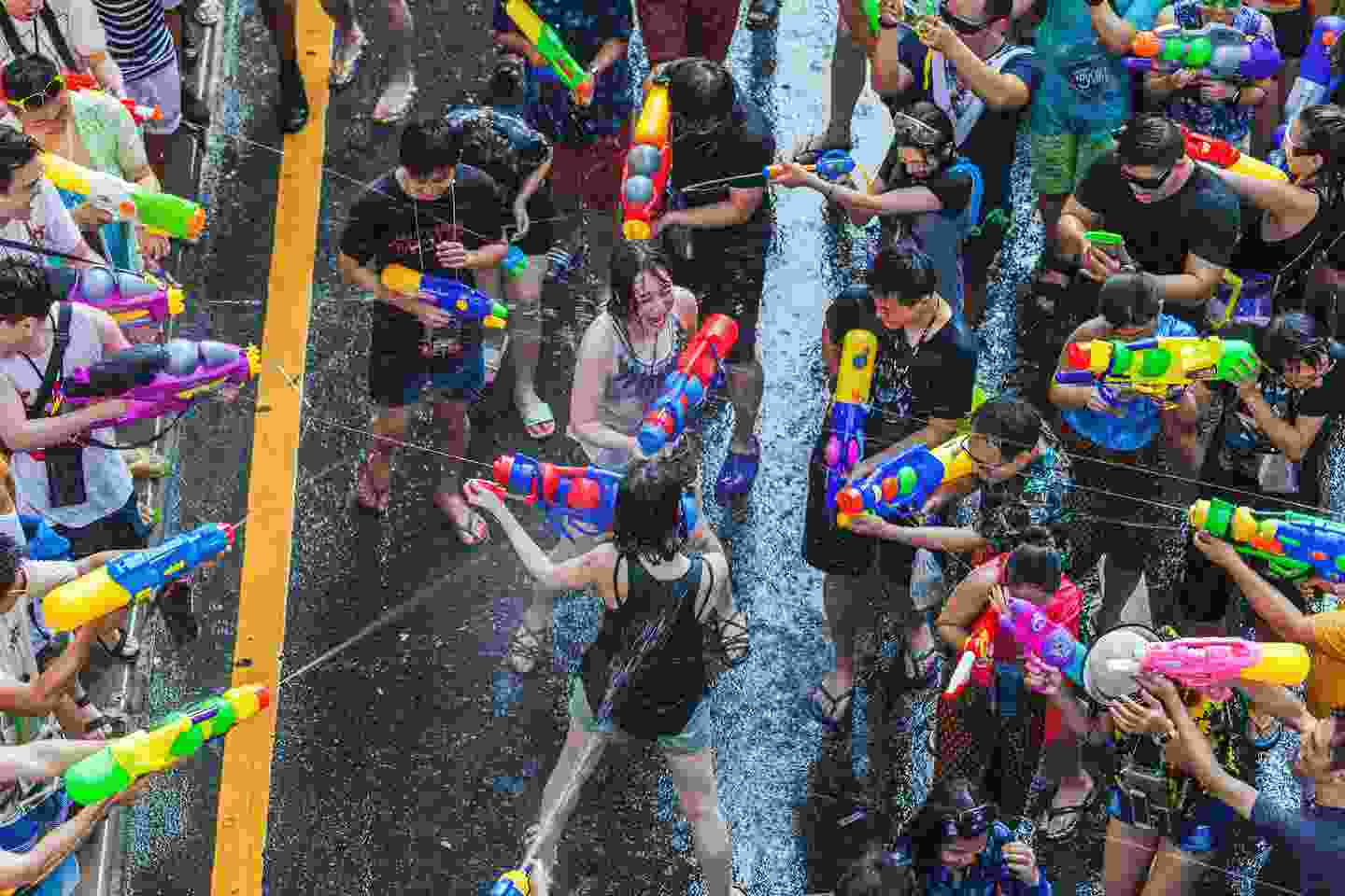 Celebrating Songkran, and smiling through the soaking (Shutterstock)
