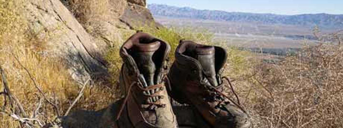 For health hiking good walking boots are essential (Florian)