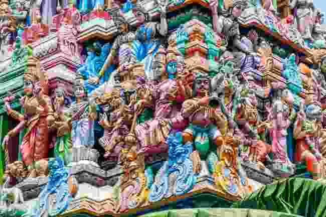 Sri Kaliawasanathar Swami Devasthanam Temple in Colombo (Dreamstime)