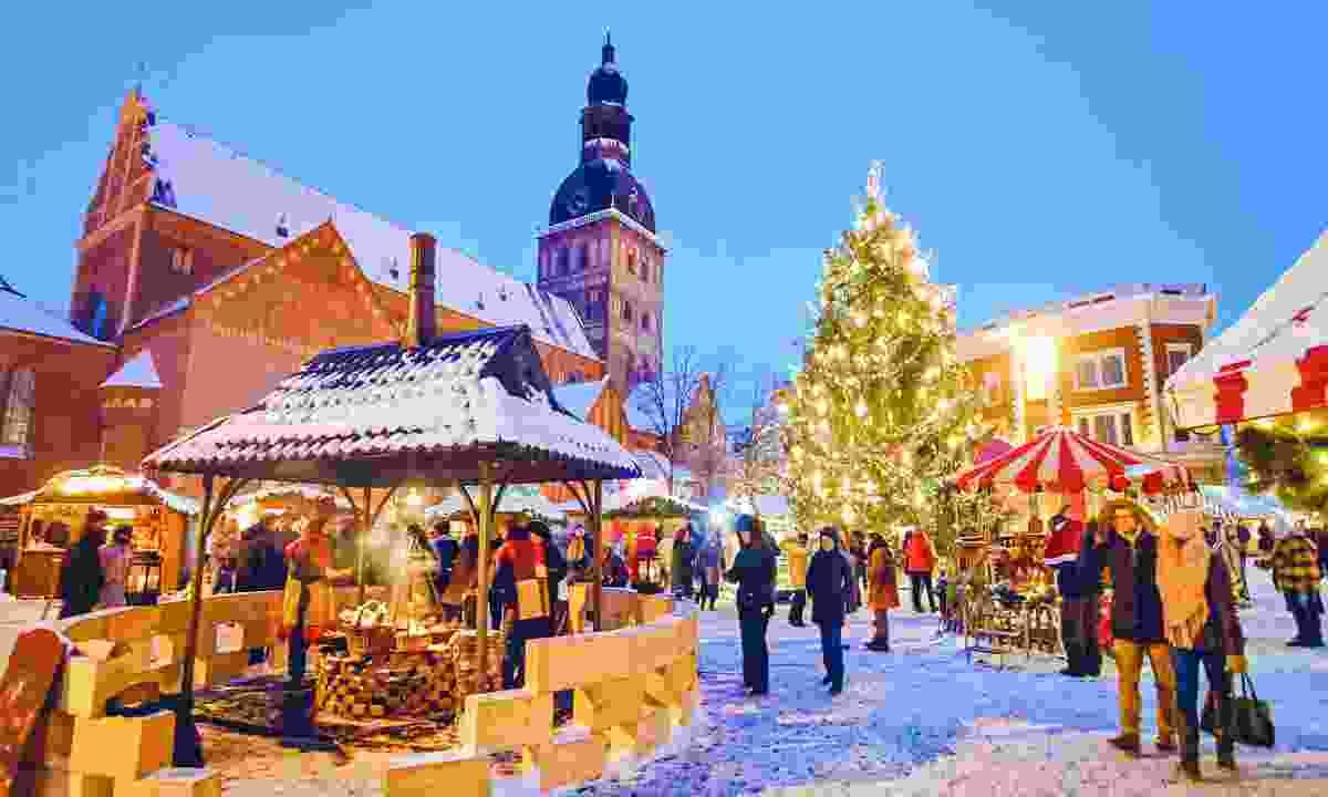 Riga Christmas Market, Riga, Latvia (Shutterstock)