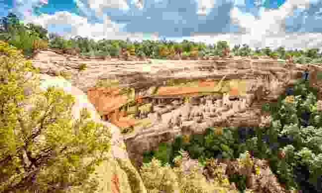 Cliff dwellings in Mesa Verde National Parks (Shutterstock)