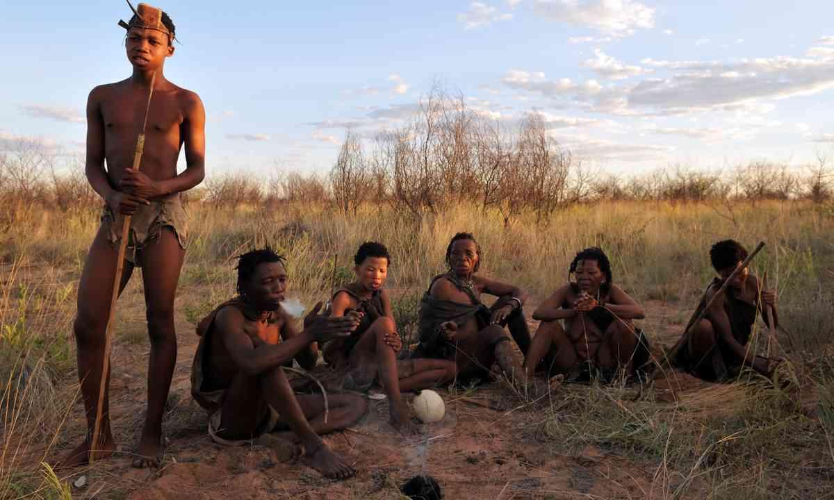 Kalahari bushmen (Shutterstock.com)