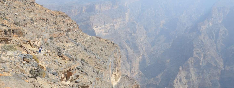 Oman's Grand Canyon (Phoebe Smith)