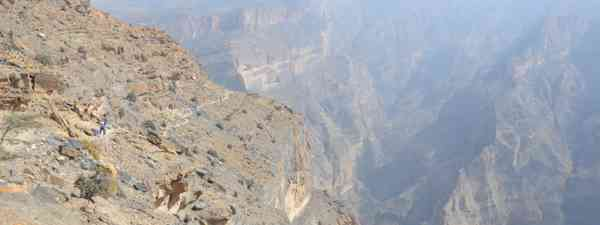 Oman's Grand Canyon (Phoebe Smith)