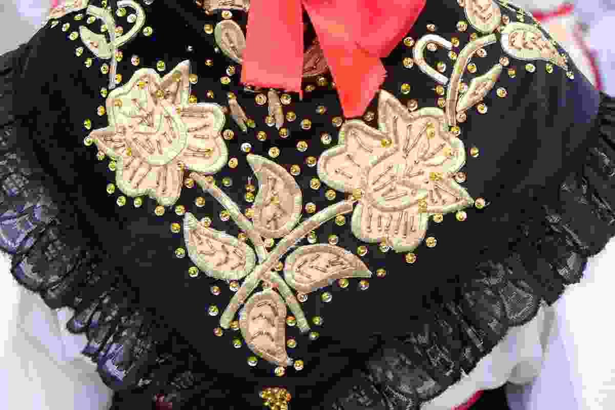 An example of traditional folk dress in Croatia (Shutterstock)