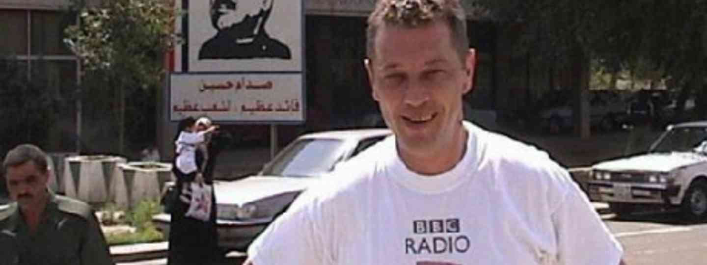 Andy Kershaw in Iraq