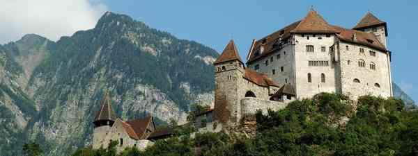 The manificent Gutenberg Castle in Balzers, Liechtenstein(dreamstime.com)