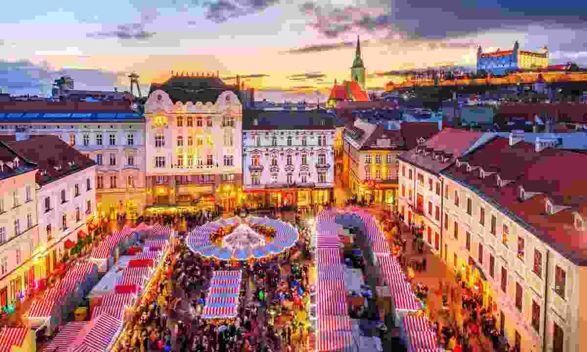 Bratislava at Christmas (Shutterstock)