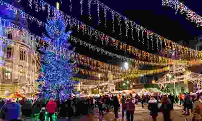 Bucharest at Christmas (Shutterstock)