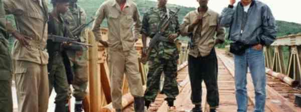 Rwanda Patriotic Front 17 May 1994 (Credit: Geoff Spink)