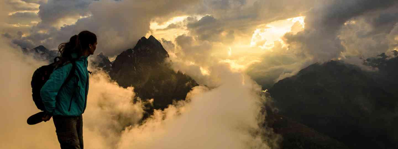 sunset views in St-Anton am Arlberg (Wolfgang Ehn)