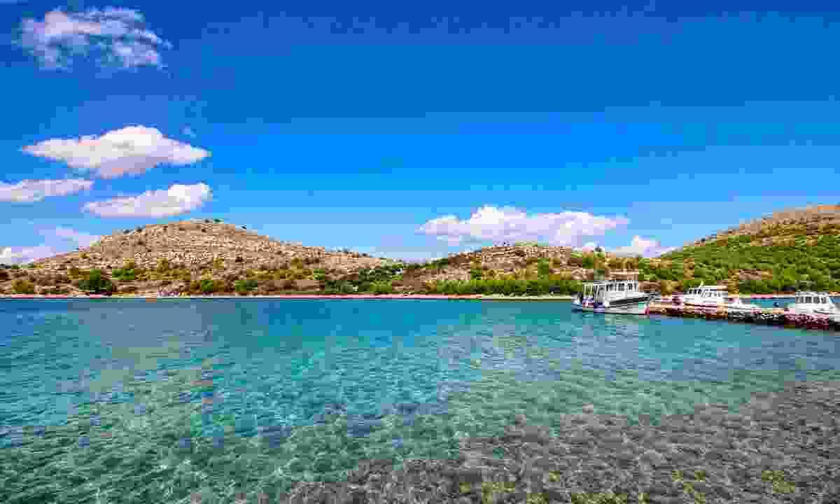 Boats in Kornati National Park (Dreamstime)