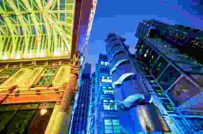Leadenhall Market and Lloyds Building (Steve Vidler)