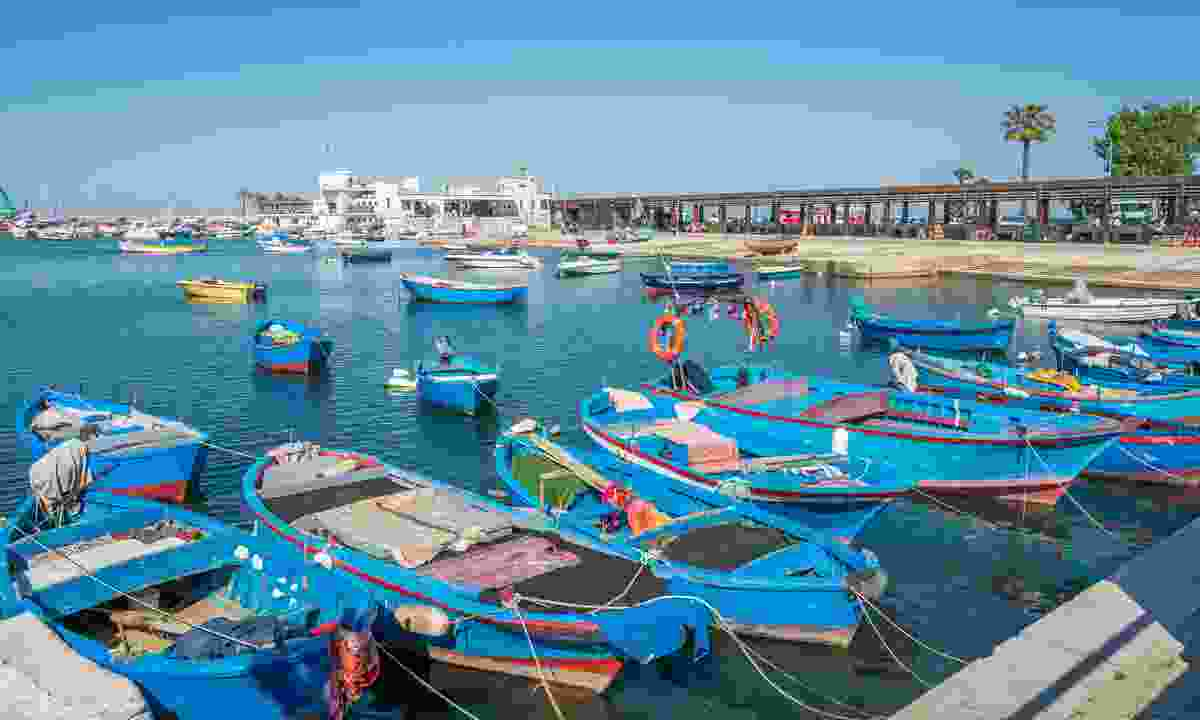 Docked boats in the old harbour (Dreamstime)