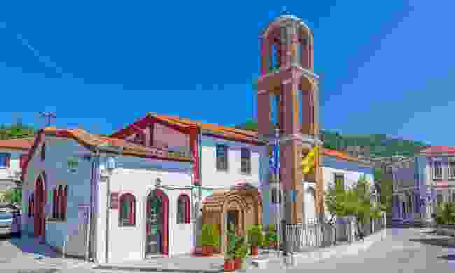 The chuch in Xanthi