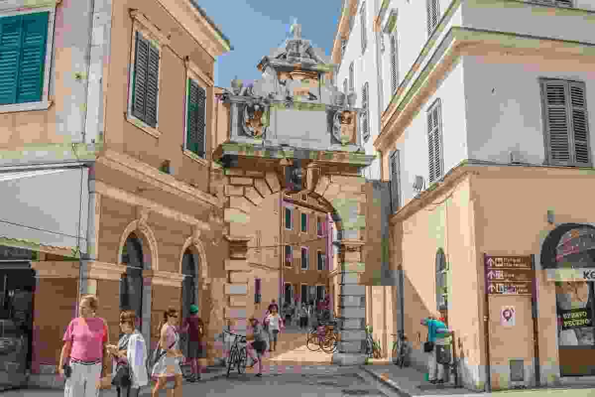 Grisia Gate, Rovinj, Croatia (Shutterstock)