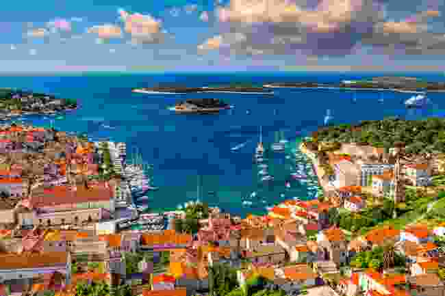 Hvar, Croatia's stunning waterfront (Shutterstock)