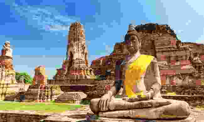 Wat Mahathat in Buddhist temple complex in Ayutthaya (Shutterstock)