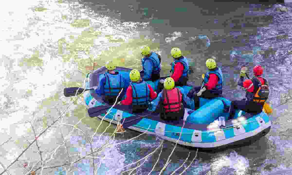 Enjoy rafting in Greece