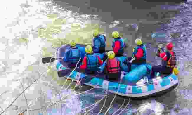 Enjoy rafting in Greece
