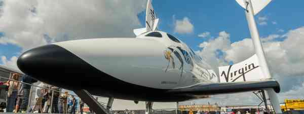 A Virgin Galactic space plane (Dreamstime)