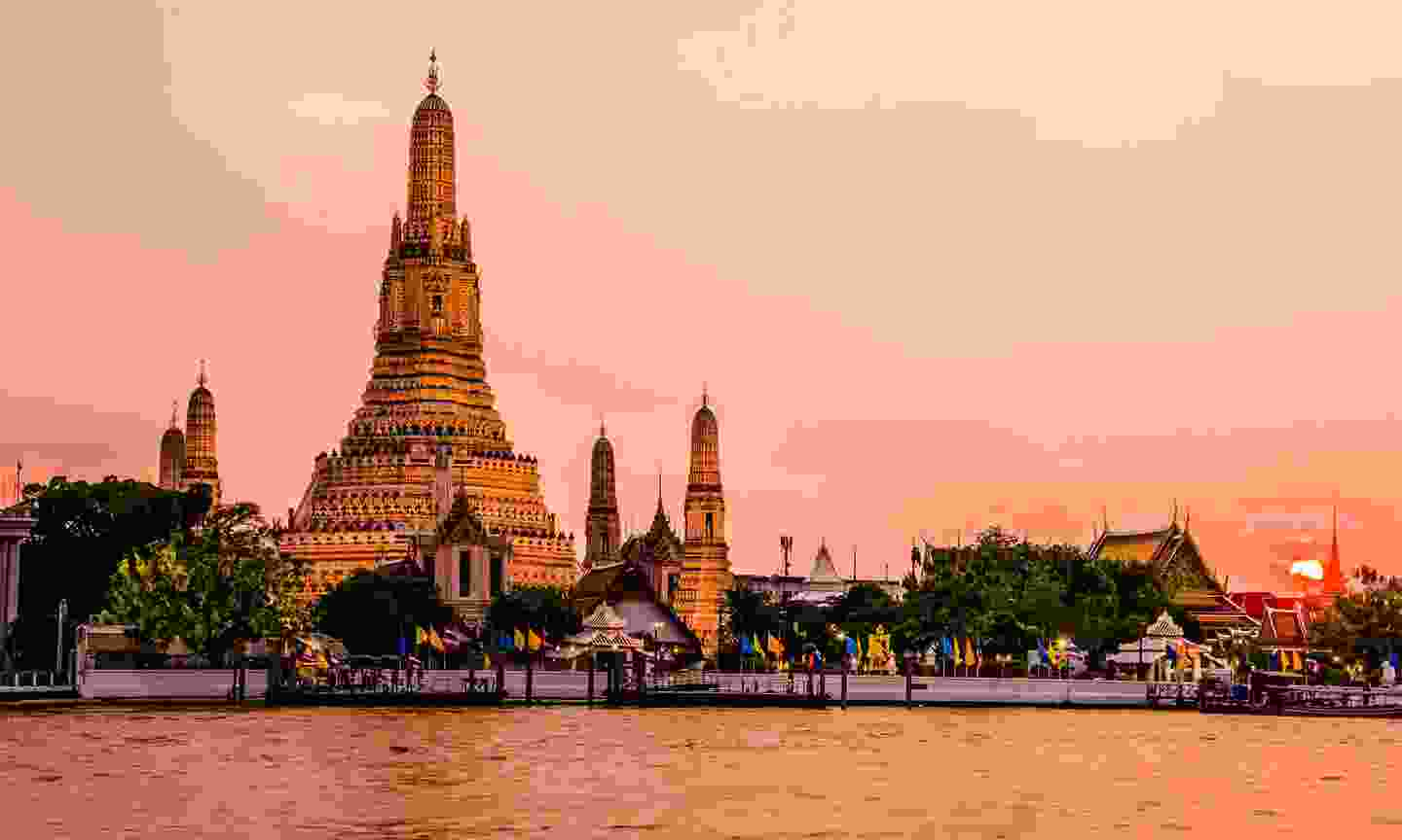 Wat Arun or Temple of the Dawn is a temple on the Thonburi west bank of the Chao Phraya River (Shutterstock)
