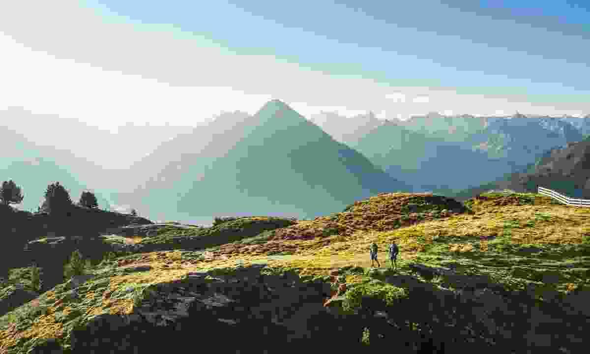 The mountains of Zillertal (Zillertal Tourismus/ Andre Schoenherr)
