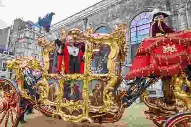 The annual Lord's Mayor parade (Steve Vidler)