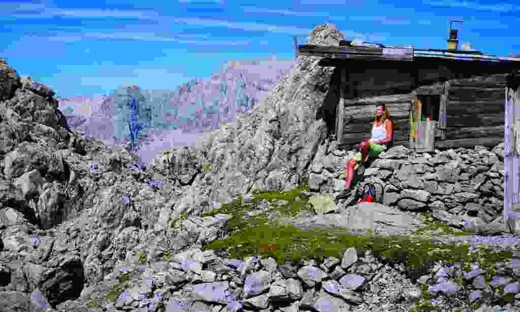 Hiking at Almhuette (Tom Bause)