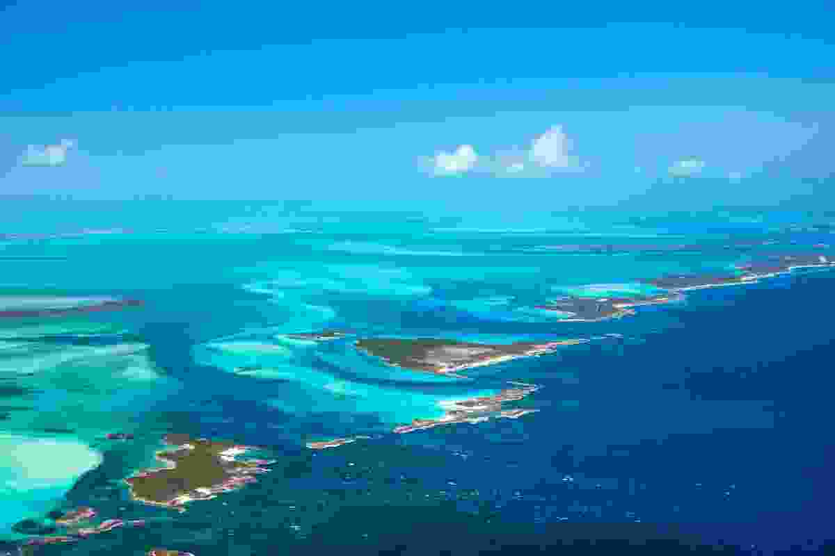 The Bahamas from above (Dreamstime)