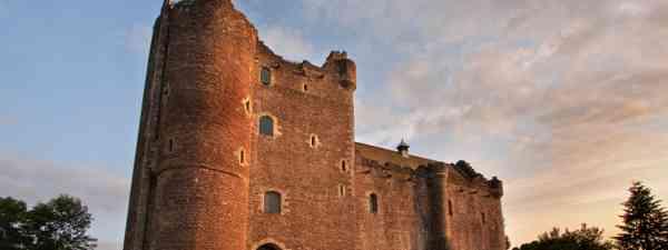 Doune Castle appears in the first season of Outlander (Shutterstock)