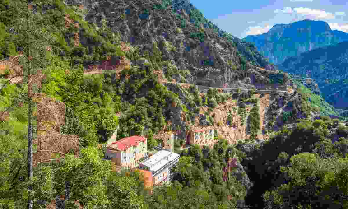 Hike through Karpenisi's incredible mountain scenery