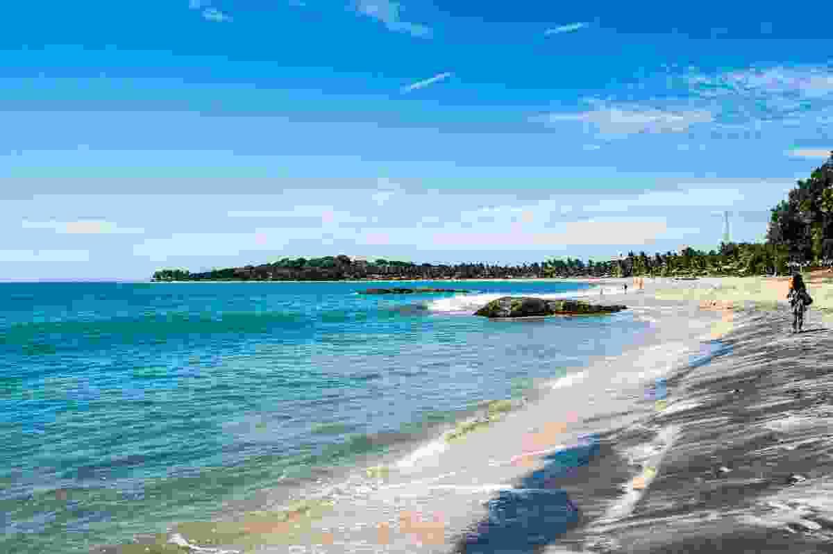 Arugam Bay Beach in Sri Lanka (Dreamstime)
