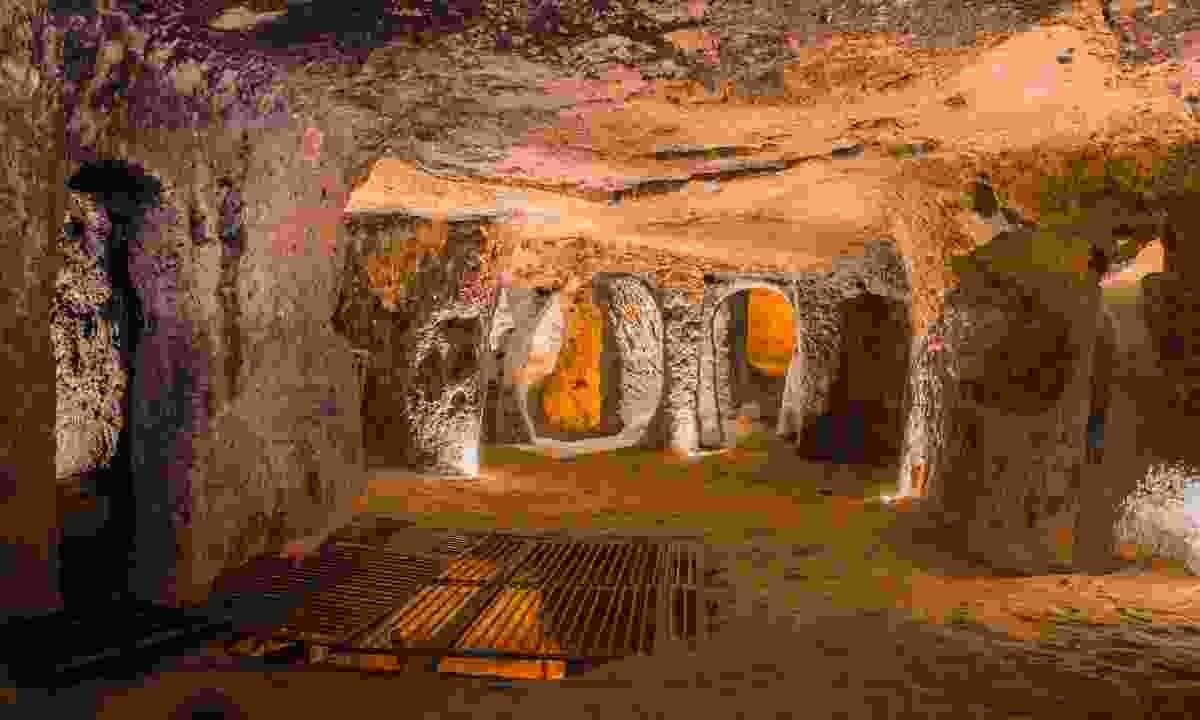 Inside Kaymakli's underground city (Shutterstock)