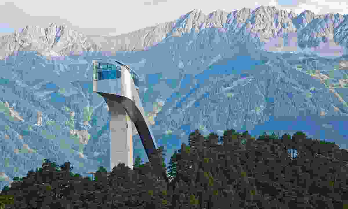 The Bergisel ski jump in Innsbruck (Christof Lackner)