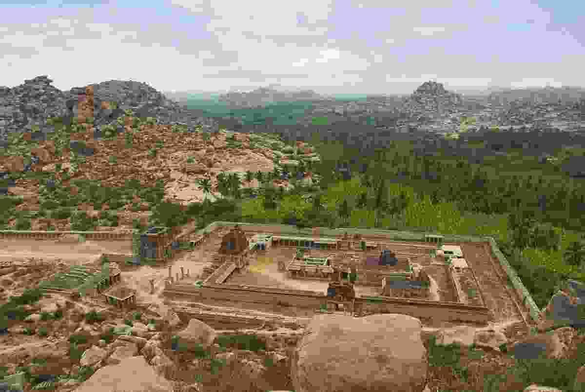 The ruins at Hampi (Dreamstime)