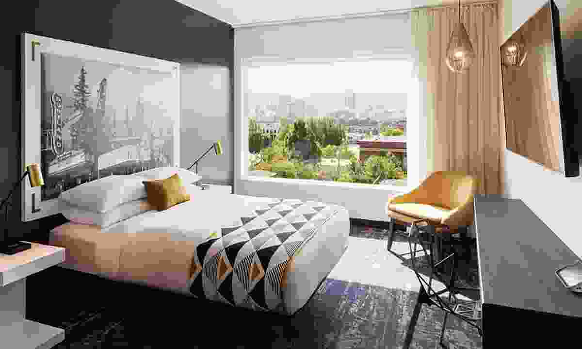 One of the stylish rooms in the Jupiter NEXT Hotel (Jupiter NEXT Hotel)