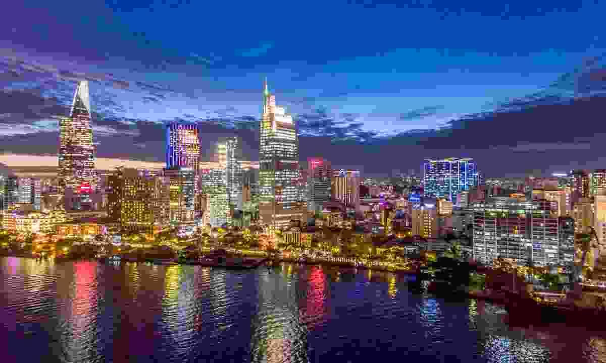 The glittering skyline of Ho Chi Minh City (Shutterstock)
