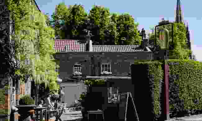 Blink and you'll miss The Flask's secluded garden (The Flask)