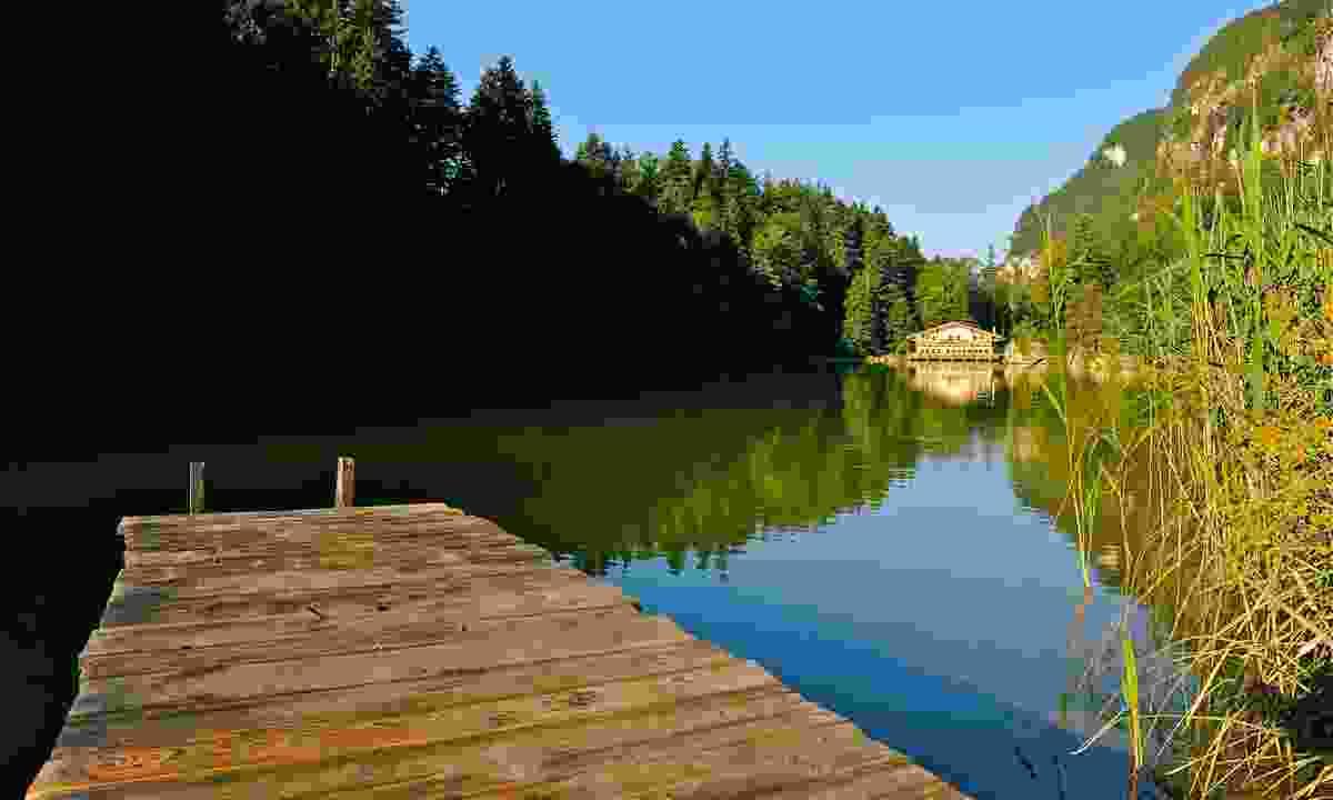 Lake Berglsteinersee Breitenbach (Alpbachtal Seenland Tourismus)