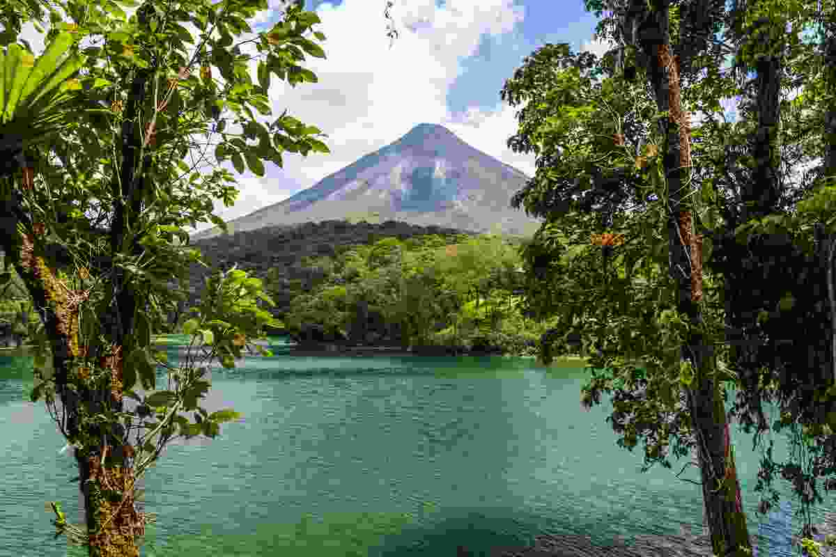 A view of the active Arenal Volcano in Costa Rica (Shutterstock)