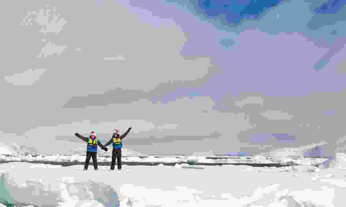 Spend Christmas in Antarctica (Michael Baynes)